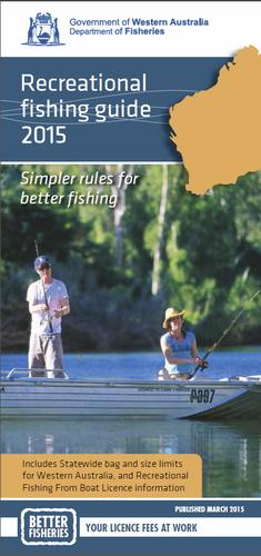 State wide fishing bag and size limit rules from 1 March 2015