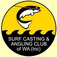 Surf Casting and Angling Club Logo